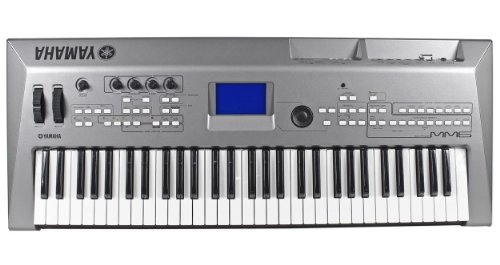 Yamaha MM6 61-Note USB/MIDI Digital Music Keyboard/Synthesizer With Motif Sounds And Internal USB Flash Memory