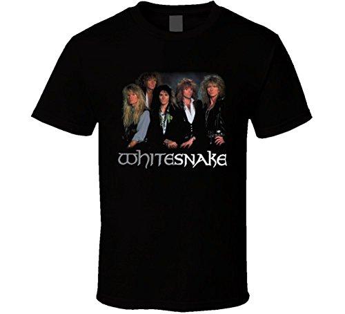 Michaner Walosde Whitesnake Rock Music Band T Shirt Large