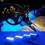 ★足元を演出! 12V イルミネーション LED ブルー ライト フロアライト ★ 車内お掃除スライム付き! cosparts-9