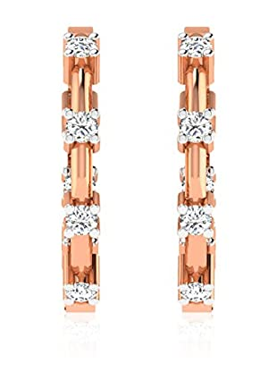 Friendly Diamonds Pendientes FDT12244R Oro Rosa