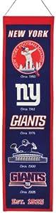 NFL New York Giants Heritage Banner by Winning Streak