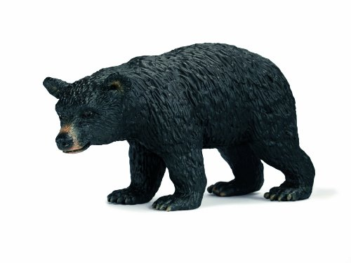 Schleich North America Female Bear Figure, Black - 1