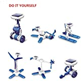 Allytech(TM) 6 IN 1 Solar Toy Educational DIY Robots Plane Kit Children Creative Kid Gift