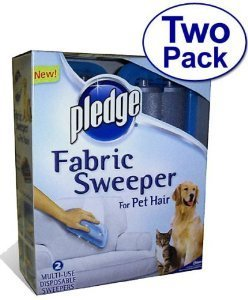 Pledge Fabric Sweeper 290 sticky roller sheets