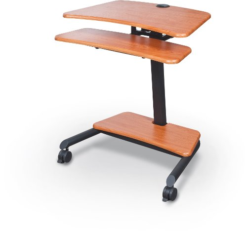 balt-up-rite-workstation-sit-stand-desk-height-adjustable-90459-cherry-285-455h-x-275w-x-225d