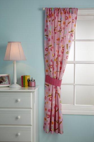 Little Bedding Window Panel, Sweet Lil Birds front-626763