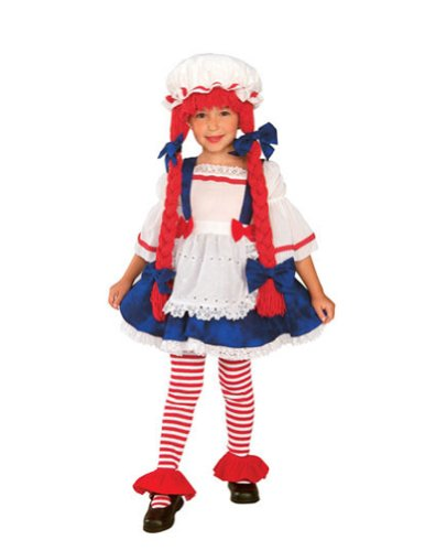 Baby-Toddler-Costume Rag Doll Girl Toddler Costume Halloween Costume