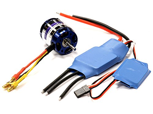 Integy RC Hobby C24364 840W Outrunner+ESC 3D Power System for T-Rex 450 3000Kv Type (450 Esc compare prices)
