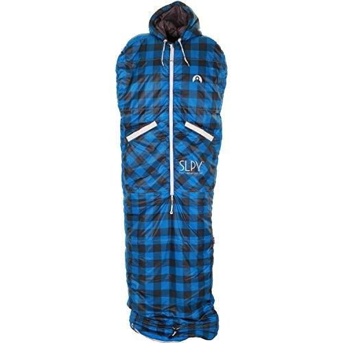 slpy-the-new-wearable-sleeping-bag-sleepy-medium-slumberjack-blue