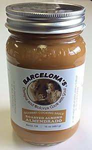 Barcelona's Mole de Almendras (Almendrado) Almond Cooking Sauce 16 Oz. Jar