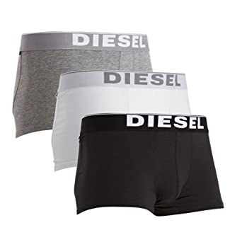 Diesel-UMBX-Kory-Mens Sporty Boxer Briefs Three Pack-Multi-Small