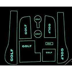 Generic VW Golf 7 Golf Cup Pad Pad Slot 7 Armrest Storage Pad Special Automobile Anti-Skid Pad #05147531