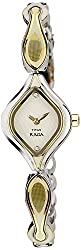 Titan Raga Analog White Dial Womens Watch - NC9904BM01J
