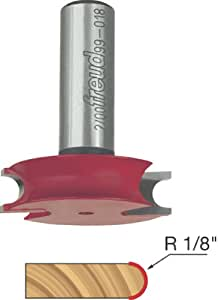Freud 99-018 Beading Router Bit for Canoe Joint with 1/2-Inch Shank