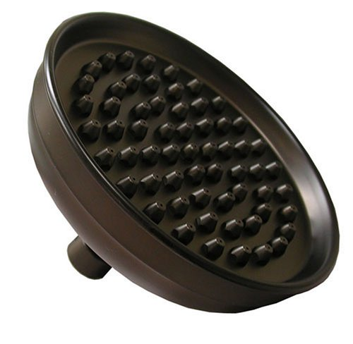 Plumbest S01-85RB 6-Inch Diameter Plated Round Shower Head with Tips, Oil Rubbed Bronze