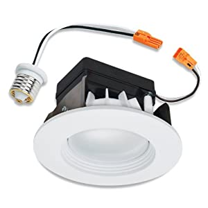 Halo RL460WH930, 4 Inch Recessed White LED Retrofit Trim 90 CRI
