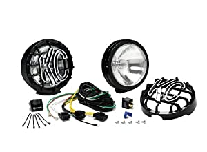 KC HiLiTES 124 SlimLite Black 100-Watt Driving Light System from KC Hilites