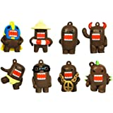Domo Charm Figures - Set of 8
