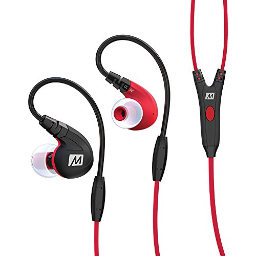 MEE-audio-M7P-Secure-Fit-Sports-In-Ear-Headphones-with-Mic-Remote-and-Universal-Volume-Control-Red