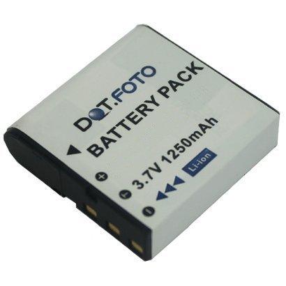 Dot.Foto Qualitätsakku für SilverCrest PAC-0040 - 3,7v / 1250mAh - Garantie 2 Jahre - 100% kompatibel