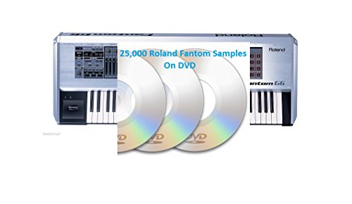 Find Cheap 25,000 Roland Fantom X6, G6, Sound Library On DVD Sound Kit WAV Files