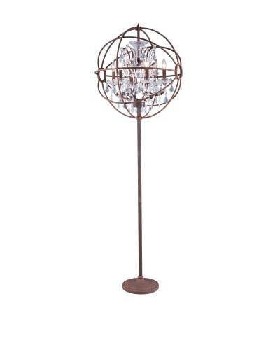 Urban Lights Hemisphere Floor Lamp, Bronze