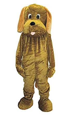 Dress Up America Puppy Dog Mascot Costume for Halloween