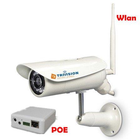 TriVision wasserdichte IR CUT FILTER Überwachungskamera Nacht-Vision IP Kamera Wifi, Mit eingebauten SD-Speicherkarte Karte Slot 802.11n 15m IR Wireless Lan IP Kamera Netzwerk Webcam Cam ** Überwachung rund um die Uhr durch leistungsstärke Software