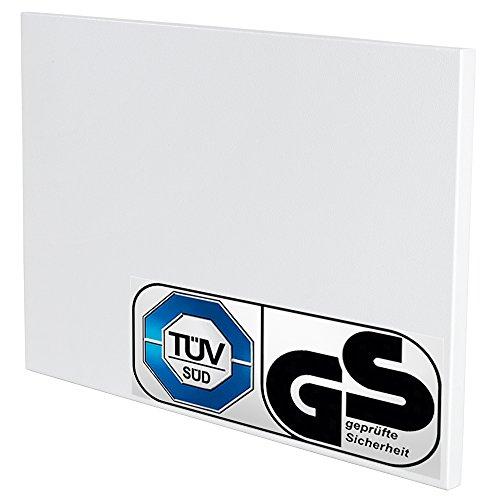 tectake-calefaccion-por-infrarrojos-270-watt-incluye-soporte-de-pared
