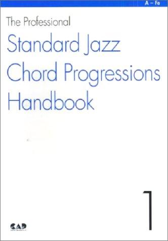 MS110 ザ・プロフェッショナル スタンダードジャズコード進行ハンドブック1 A~Fe コードのみ