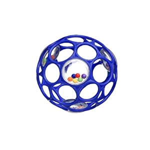 Rhino Toys Oball Rattle, Colors May Vary