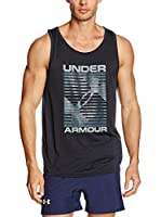 Under Armour Top Ua Turned Up Tank (Negro)