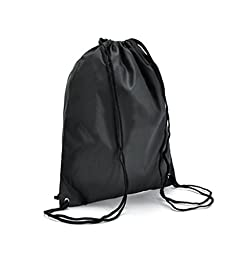 Drawstring bags solid thick waterproof backpack shoulder pouch beam port backpack