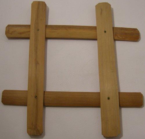 Gestell für Dampfgarer - Dünstaufsatz Ständer - Bambus - gute Qualität