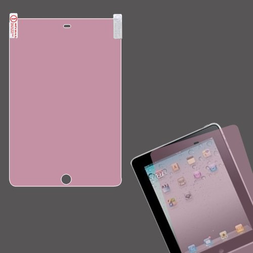 Cell Accessories For Less (Tm) Apple Ipad Mini 3 Lcd Screen Protector/Pink + Bundle (Stylus & Micro Cleaning Cloth) - By Thetargetbuys
