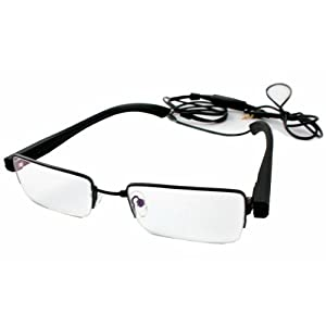 Clear Glasses Hidden Camera by Brickhouse Security