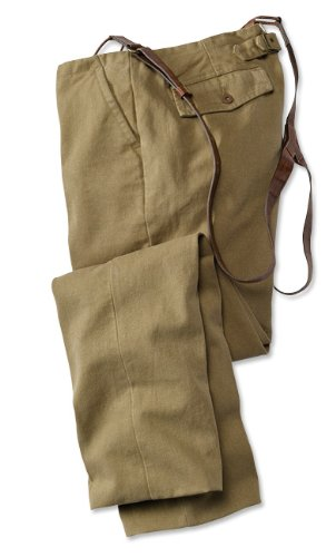 Hemp/Cotton-canvas Miner's Pants, 40W X 31 3/4L