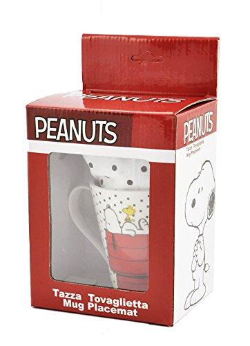 Peanuts - Tazza con Tovaglietta
