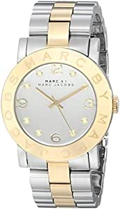 Marc By Marc Jacobs Mini Amy Rose Gold Stainless Steel White Dial Women's Watch MBM3078