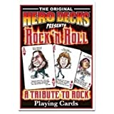 HeroDecks - Heros of Rock 'n Roll - Playing Cards