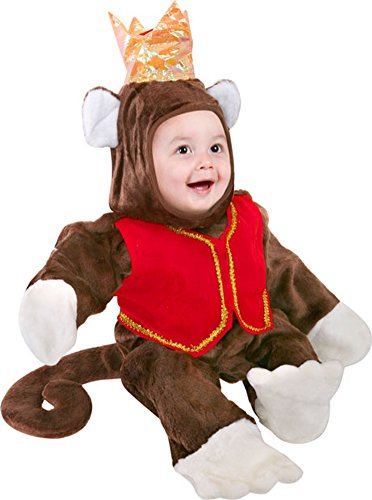 Infant Circus Monkey Baby Halloween Costume (6-12 Months)