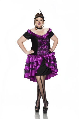 Delicious Plus-Size Dance Hall Queen Costume