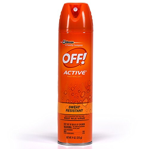 Off! 22937 Active Spray répulsif anti-insectes, 255 g