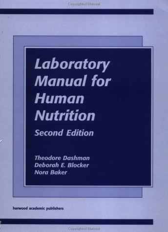 Laboratory Manual/Human Nutr 2