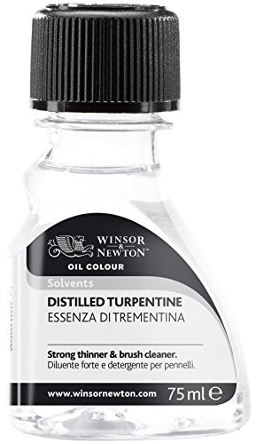 Winsor & Newton Distilled Turpentine 75ml (3221744)