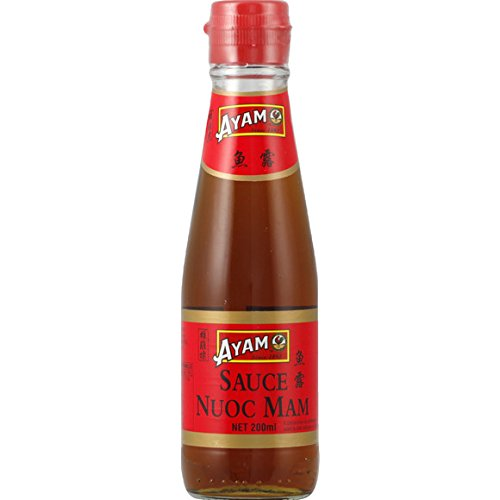 Ayam - Sauce Nuoc Mam (pour nems) - Le flacon de 200ml - (pour la quantité plus que 1 nous vous remboursons le port supplémentaire)