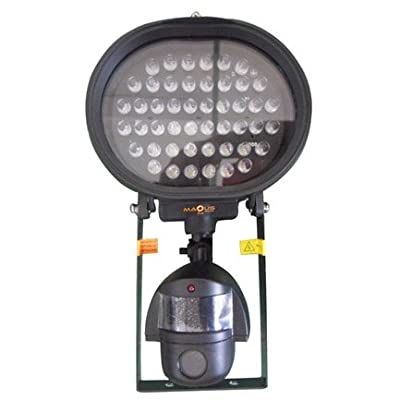 Security Video Light Outdoor Flood Lights and Video - Round Light