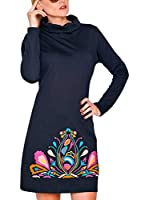 HHG Vestido (Negro / Multicolor)
