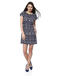 Prym Women's Annabel Dress (1011506303_Blue Mix_Medium)
