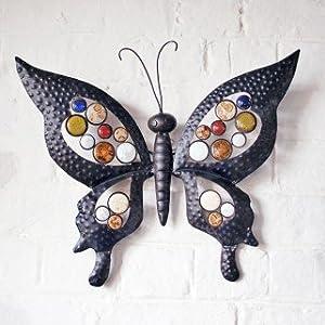 Metal Butterfly Garden Wall Art For Garden & Home